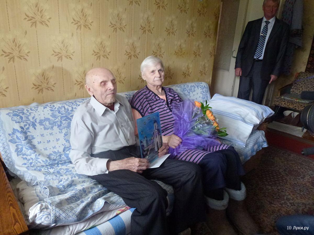 Ветеран ВОВ Н.А. Курчанов, Великие Луки